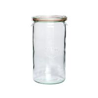 [Hubsch]Storage jar w/lid,