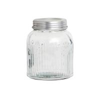 [Hubsch]Glass jar w/lid, clear, large 276083 보관용기