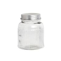 [Hubsch]Glass jar w/lid, clear, medium 276084 보관용기