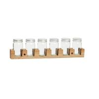 [Hubsch]Wallhanging spice jars 386005 보관용기세트