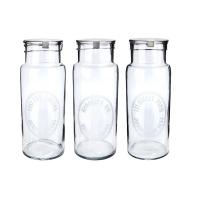 [Hubsch]Storageglass,3ass print, large 400014 보틀