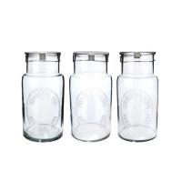 [Hubsch]Storageglass, 3ass print, medium 400015 보틀