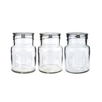 [Hubsch]Storageglass, 3ass print, small 400016 보틀