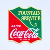 [코카콜라]Fountain Service스티커