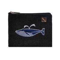 whale card pouch