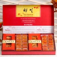 [해일곶감]고품격선물세트 대5호(반건시40gx20입)(청도감말랭이800g)