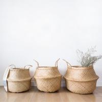 내츄럴 해초 바구니 (3사이즈) Seagrass Basket
