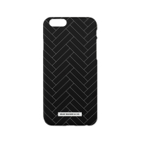 Herringbone Phone case - Black