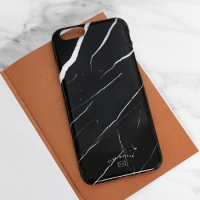 MARBLE CASE - BLACK CRACK