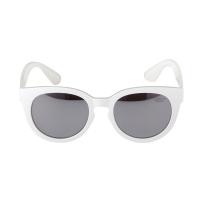 Fretzel TR Glossy White/Silver Mirror Lens
