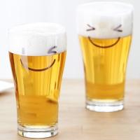 코니칼 스마일 맥주잔 4p(선물용)
