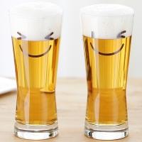 메트로폴리탄 스마일 맥주잔 340ml 4p(선물용)