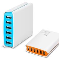 하이 스피드 6포트 멀티 USB 충전기 Z1 Banker