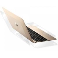 애플 뉴 맥북/프로/에어 매트 헤어라인 실버 외부보호세트(각1매)