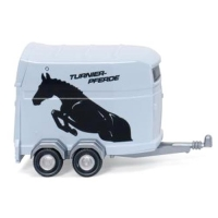 1/87 Horsebox trailer (WI066044GY) 트레일러 모형