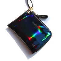 [스크래치 상품] 스프레드 지퍼 목걸이 지갑