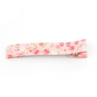 핑크플라워 집게핀 6cm_8cm