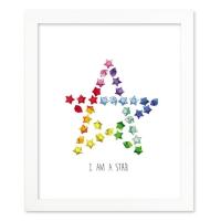 [J] I am a star 액자