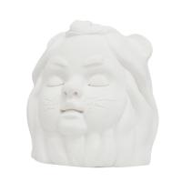 [meltheme]cowardly lion - ceramic ornament