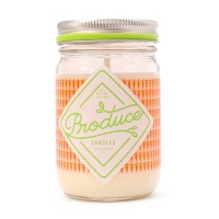 Produce candles  carrot