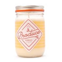 Produce candles  honey