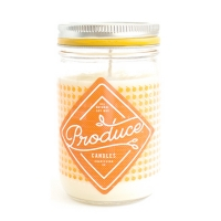 Produce candles  seasonals peach