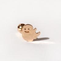 14k gold ghost piercing