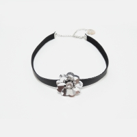 [버나드앤쇼] LEATHER CHOKER (4COLOR)