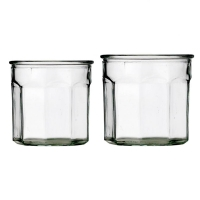 [BloomingVille]Glass jar, clear glass 용기