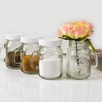 Mason Jar 소금/후추통 4oz 4P