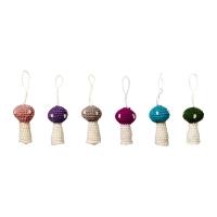 [BloomingVille]Crochet mushrooms, wool 803001 오너먼트