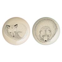 [BloomingVille]Adelynn Bear/Fox Plates 21100421 플레이트