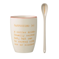 [BloomingVille]Carla Cappucino Cup & Spoon 21100437 컵/스푼