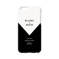 PHONE CASE - BLANC et NOIR