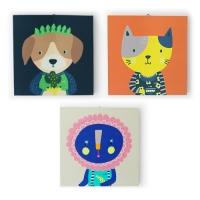 Fabric Panel - Animal friends2!