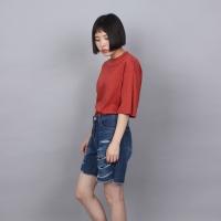 [쿠치마치] 반하이넥 루즈 탑 (3color)