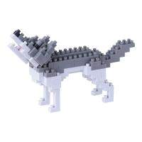 [나노블럭] 회색늑대