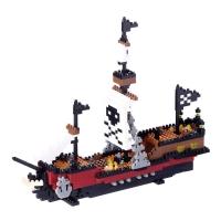 [나노블럭] 해적선