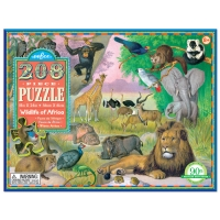이부퍼즐 208pc 아프리카 야생동물_(693387)