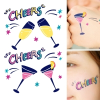 FACE DECO - CHEERS!