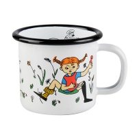 [Muurla]Pippi Enamel mug 1,5dl,white 1400-015-06 법랑머그