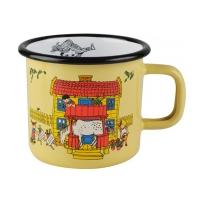 [Muurla]Pippi Enamel mug 3,7dl,yellow 1400-037-01 법랑머그