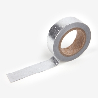Masking Tape single - 37 Dot : silver