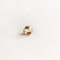 10k gold ring earring-Medium