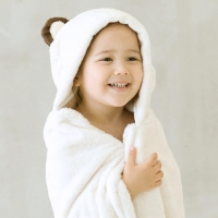 [밀리언달러베이비]베이비 후드타올 곰(목욕&비치타올&담요)