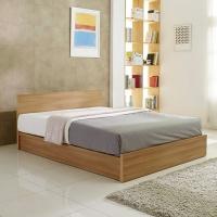 하치 평상형 침대풀세트SS(사이드테이블2,스피널라텍스존 매트포함)