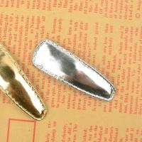호일삼각 골드실버 똑딱핀(핀대고정)_50mm(5EA 단위 판매)