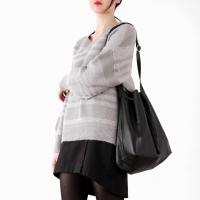 soft line knit top