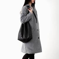 soft warm boxy-fit coat