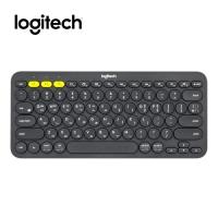 [로지텍코리아정품] 로지텍 블루투스 멀티디바이스 키보드 K380 블랙